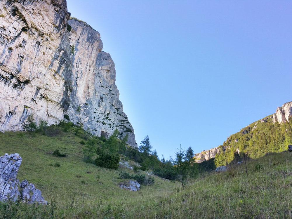 Rock climbing gym Ziolere Val di Zoldo (Dolomites )